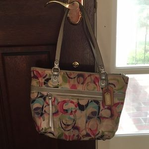 Coach shopper handbag